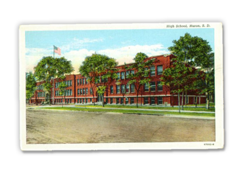 Huron High School, circa 1940